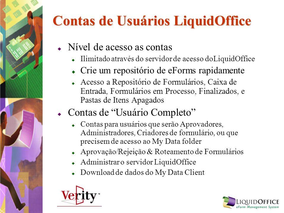 Contas de Usuários LiquidOffice