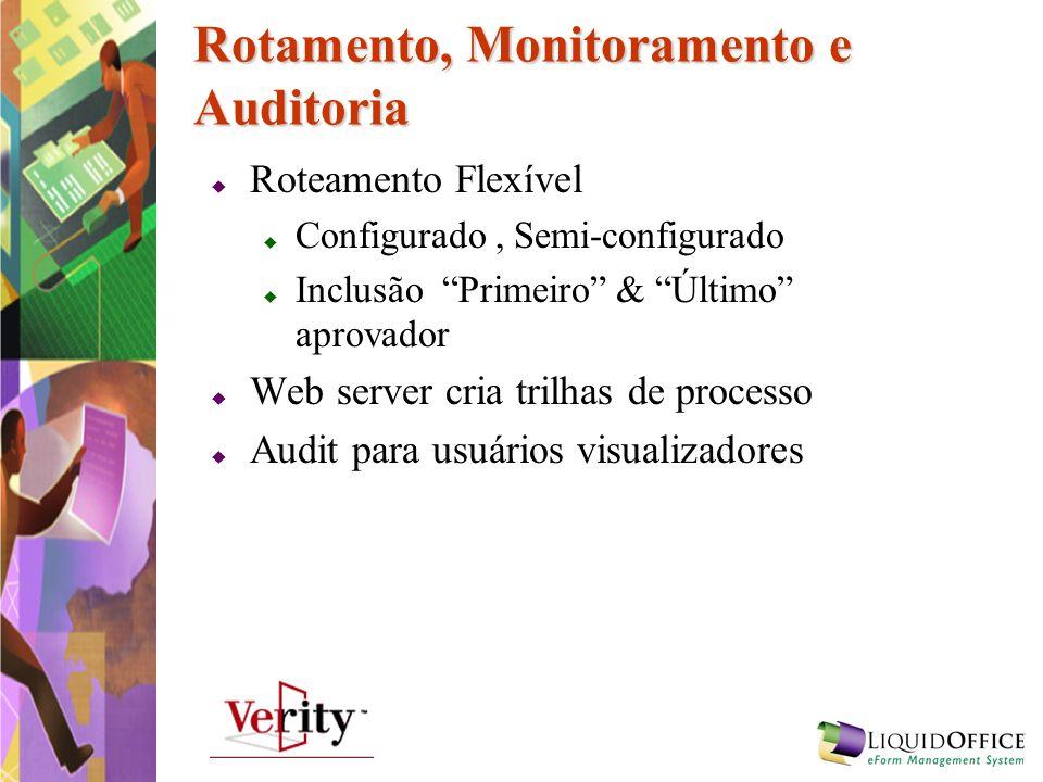 Rotamento, Monitoramento e Auditoria