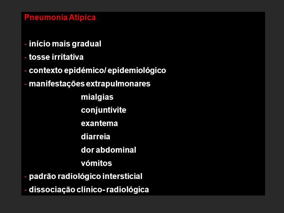 contexto epidémico/ epidemiológico manifestações extrapulmonares