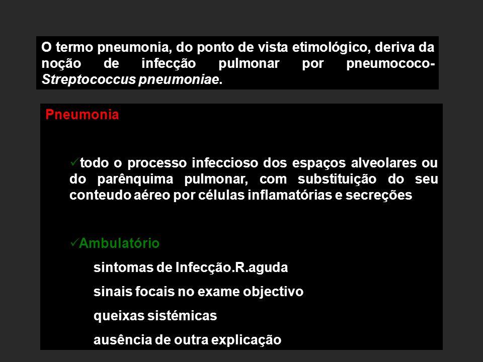 sintomas de Infecção.R.aguda sinais focais no exame objectivo