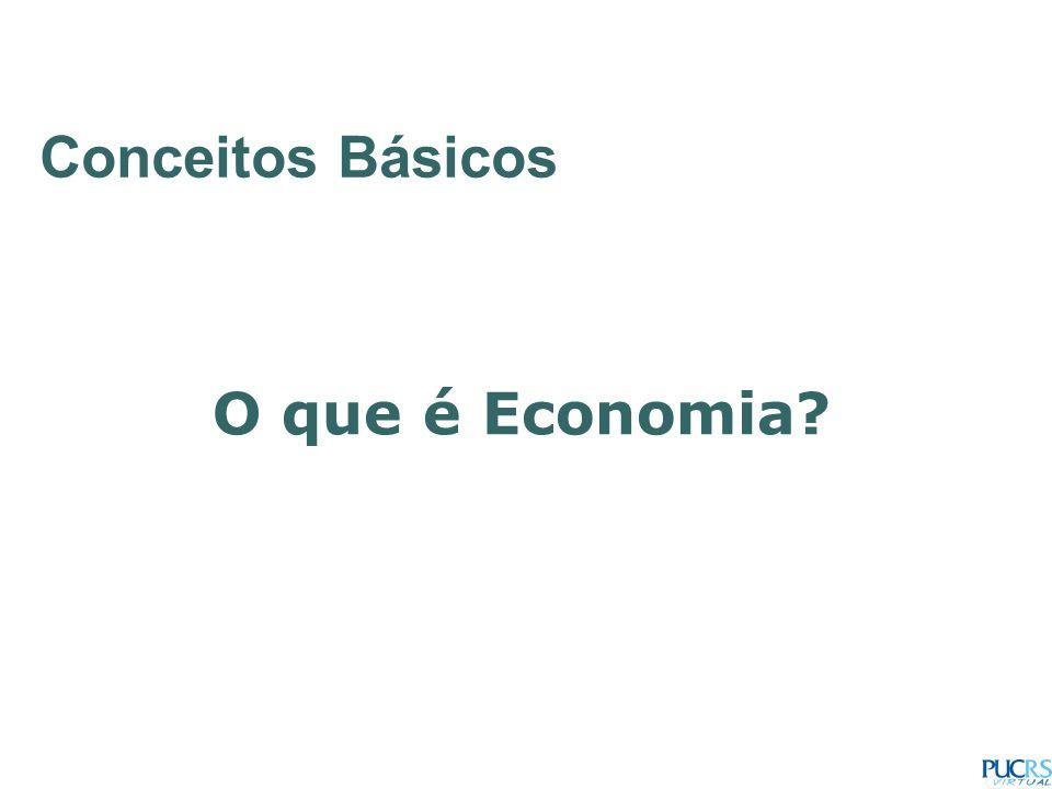 Conceitos Básicos O que é Economia