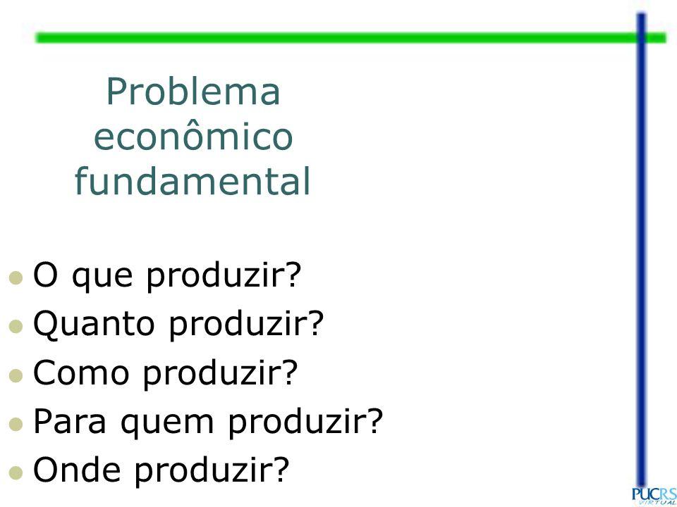 Problema econômico fundamental