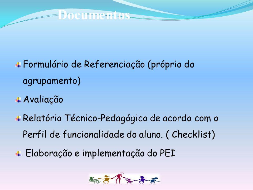 Documentos Formulário de Referenciação (próprio do agrupamento)