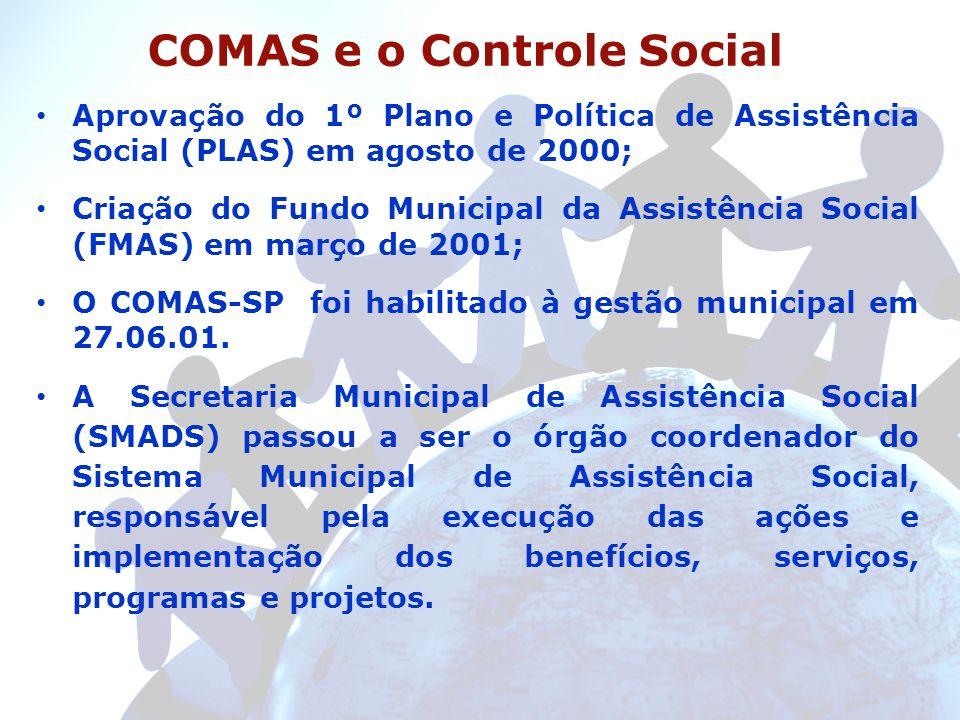 COMAS e o Controle Social