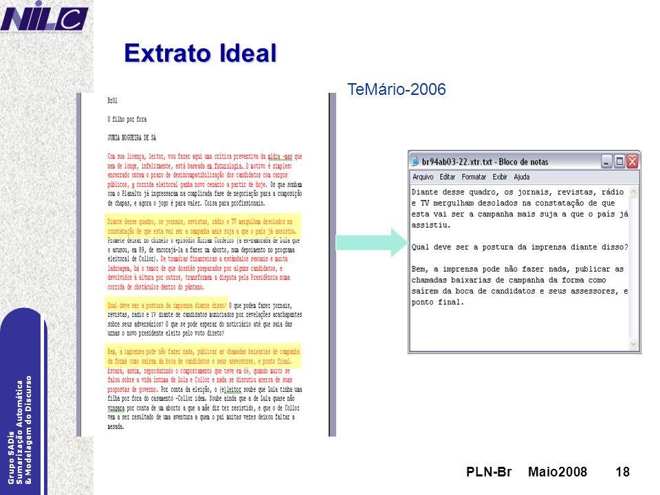 Extrato Ideal TeMário-2006