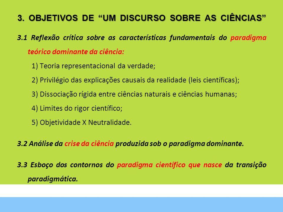 3. OBJETIVOS DE UM DISCURSO SOBRE AS CIÊNCIAS