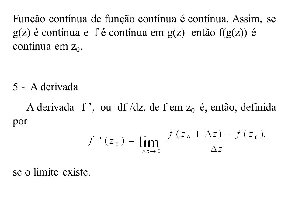 Função contínua de função contínua é contínua