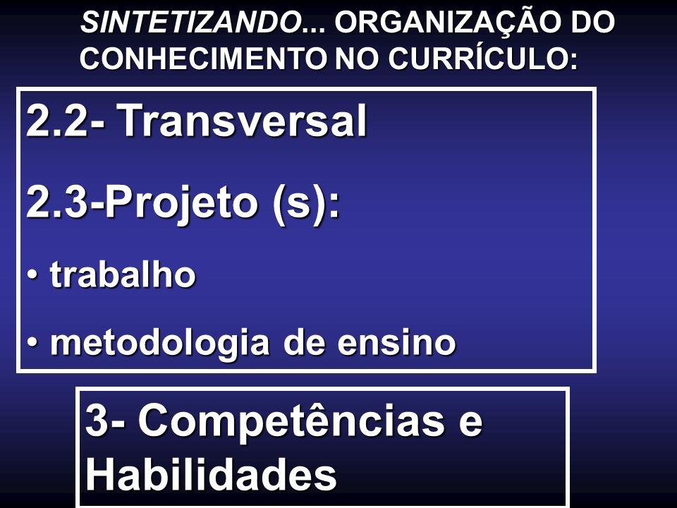 3- Competências e Habilidades