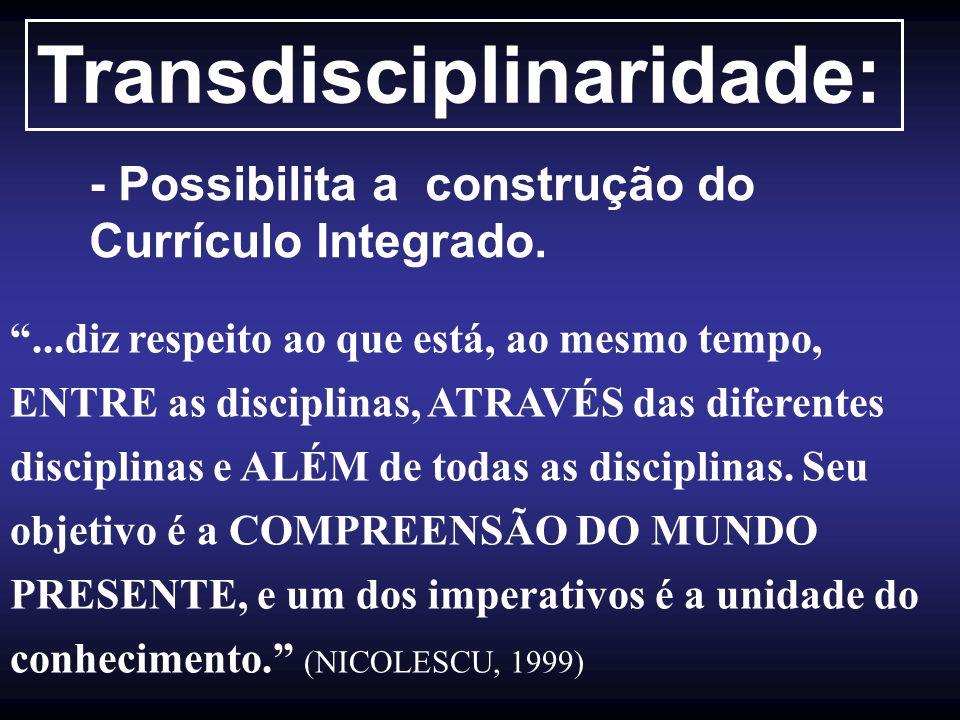 Transdisciplinaridade: