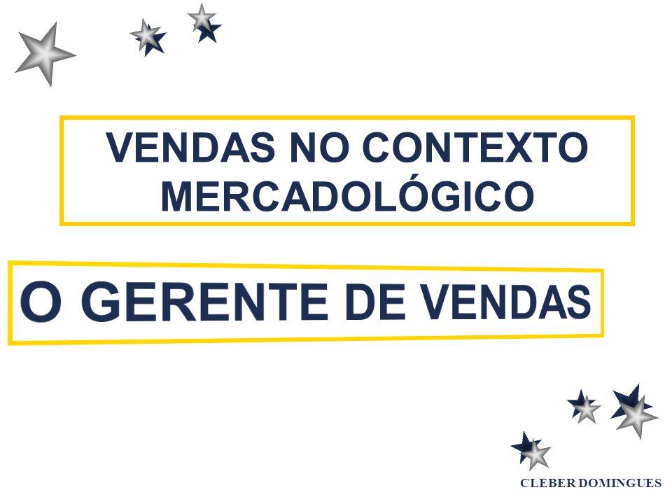 VENDAS NO CONTEXTO MERCADOLÓGICO