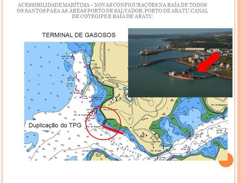 TERMINAL DE GASOSOS Duplicação do TPG