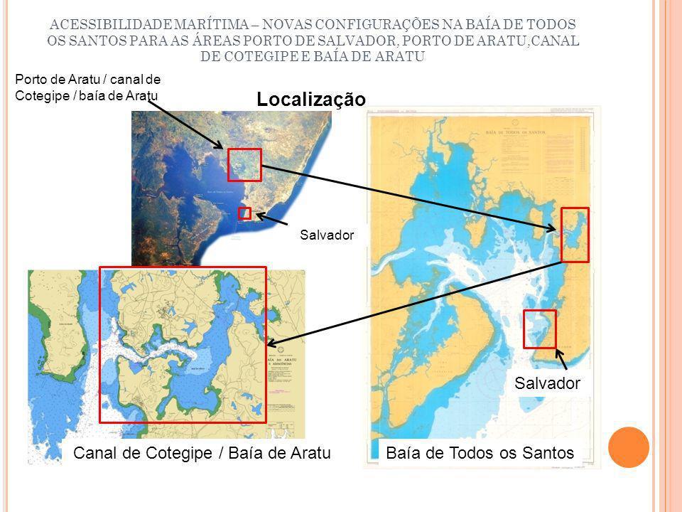 Localização Salvador Canal de Cotegipe / Baía de Aratu