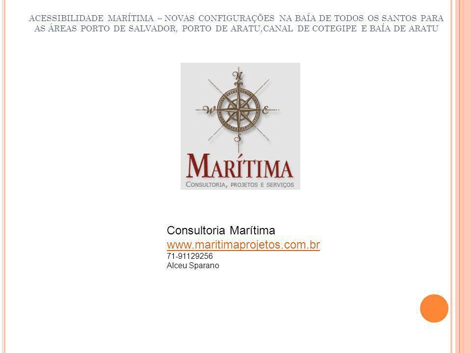 Consultoria Marítima www.maritimaprojetos.com.br