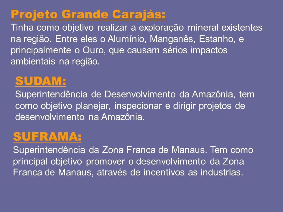Projeto Grande Carajás: