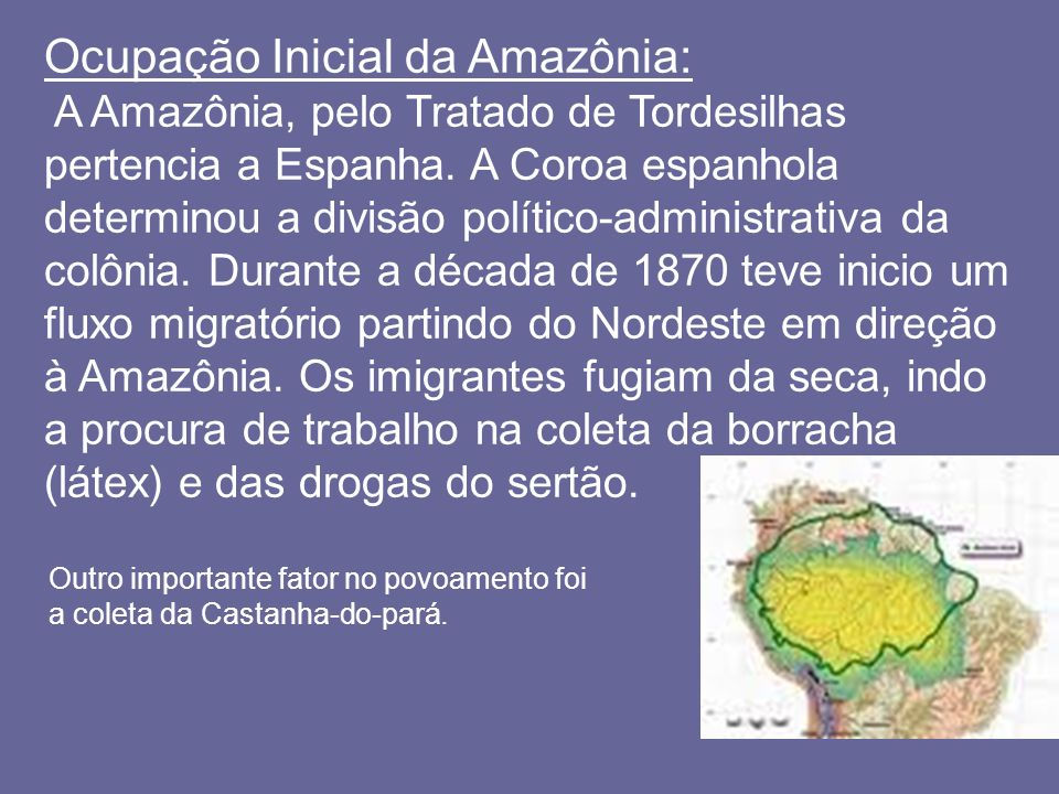 Ocupação Inicial da Amazônia:
