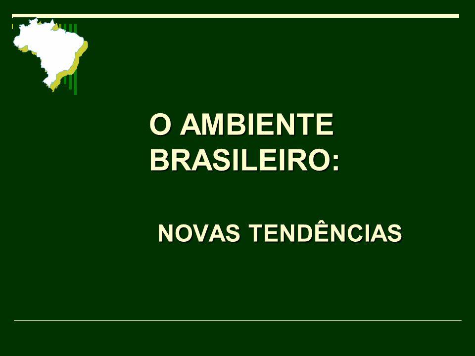 O AMBIENTE BRASILEIRO: NOVAS TENDÊNCIAS