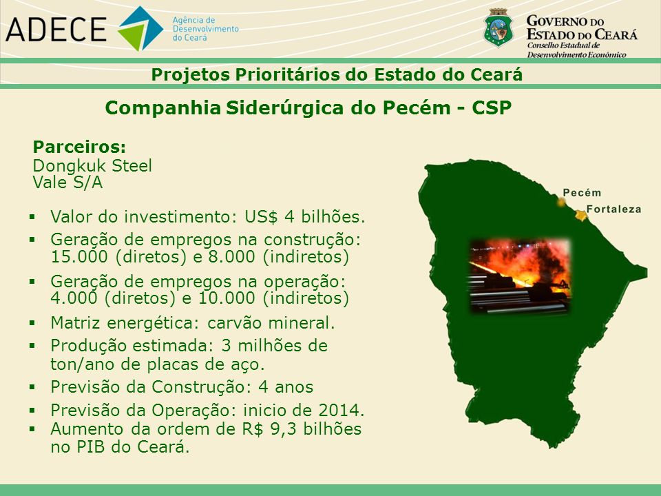 Companhia Siderúrgica do Pecém - CSP