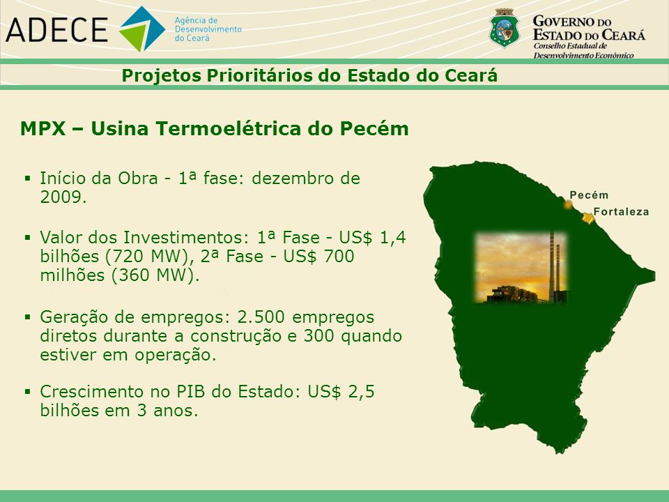 MPX – Usina Termoelétrica do Pecém