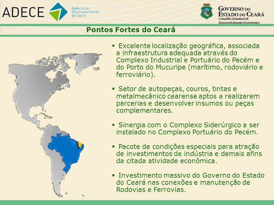 44 Pontos Fortes do Ceará.