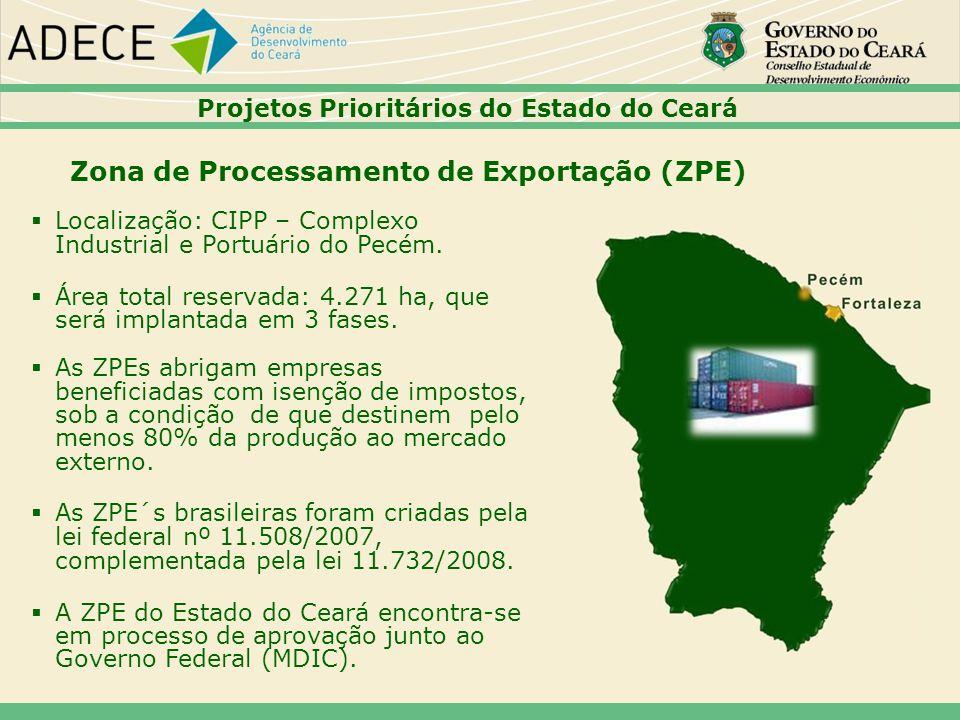 Zona de Processamento de Exportação (ZPE)