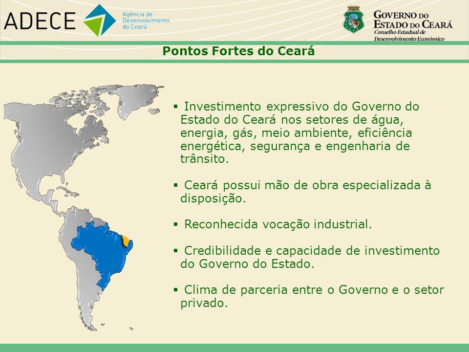 Ceará possui mão de obra especializada à disposição.