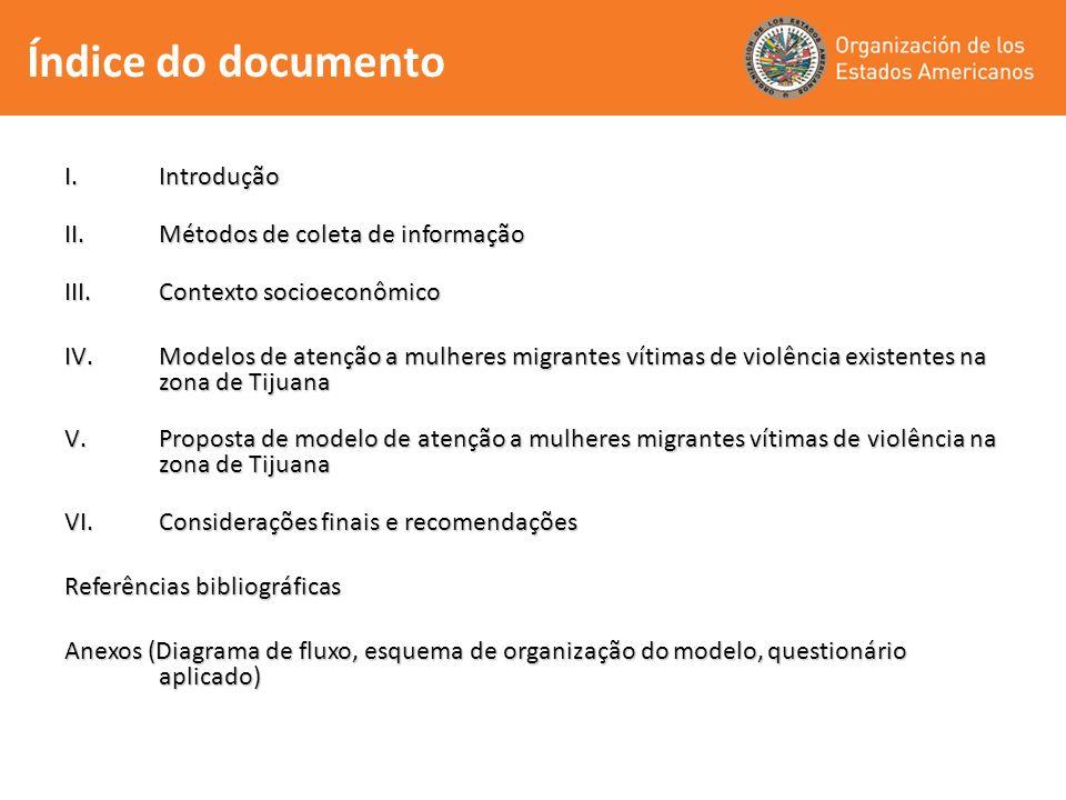 Índice do documento Introdução Métodos de coleta de informação