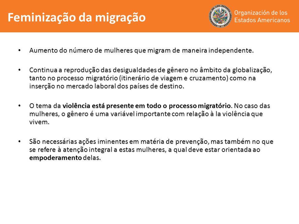 Feminização da migração