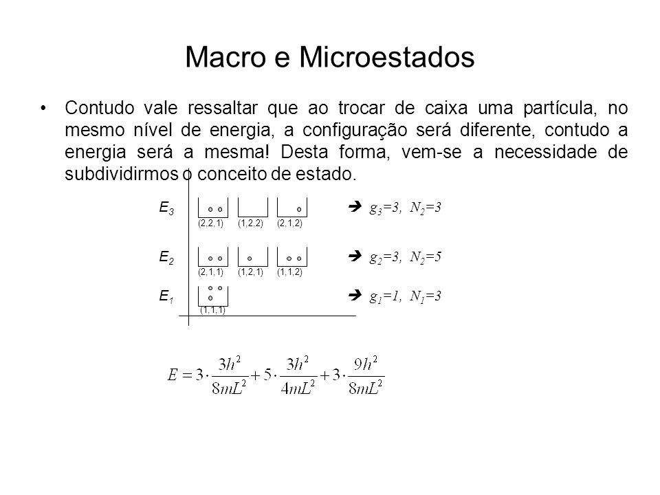 Macro e Microestados
