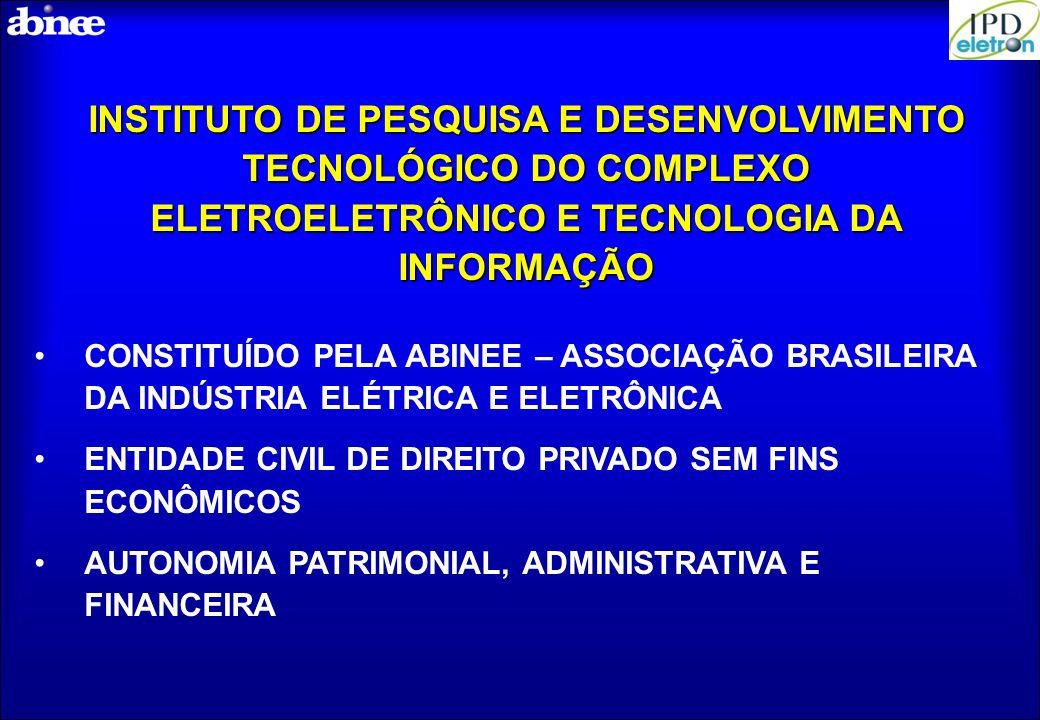 INSTITUTO DE PESQUISA E DESENVOLVIMENTO TECNOLÓGICO DO COMPLEXO ELETROELETRÔNICO E TECNOLOGIA DA INFORMAÇÃO