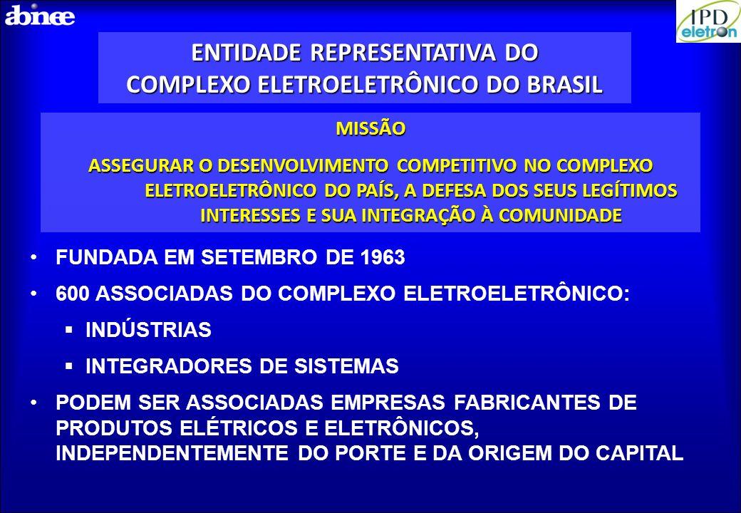 ENTIDADE REPRESENTATIVA DO COMPLEXO ELETROELETRÔNICO DO BRASIL