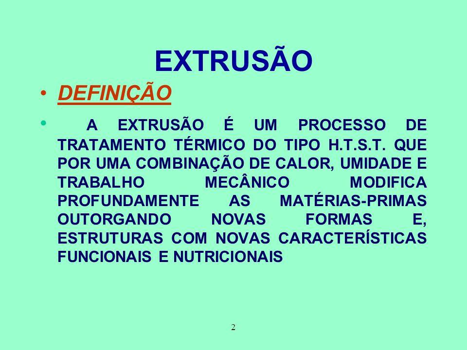 EXTRUSÃO DEFINIÇÃO.