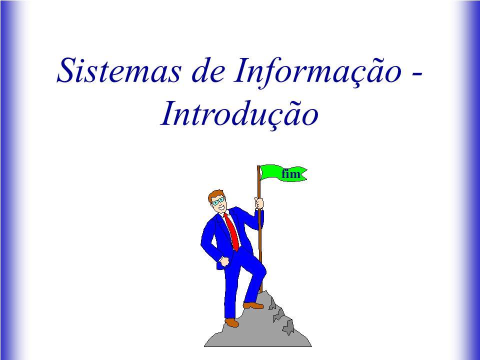 Sistemas de Informação - Introdução