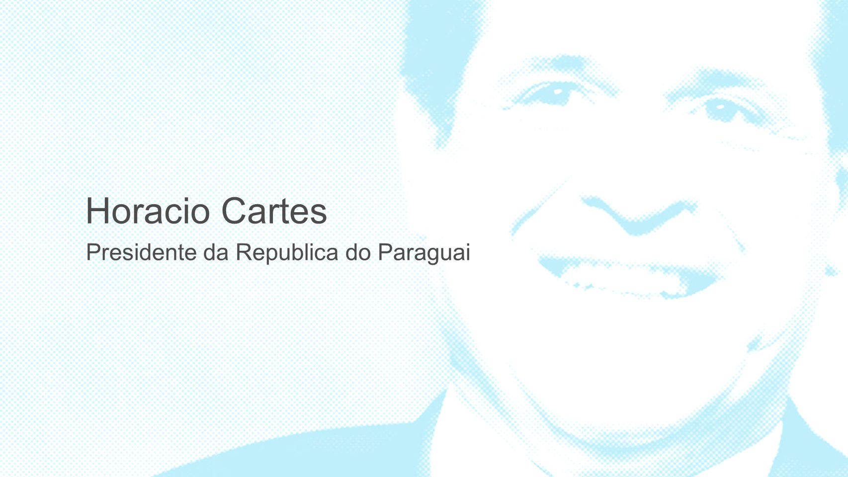 Horacio Cartes Presidente da Republica do Paraguai 3 3