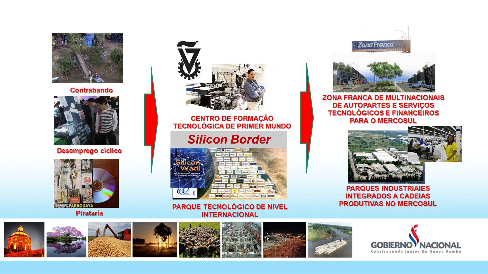 Fronteras 180º Silicon Border Contrabando