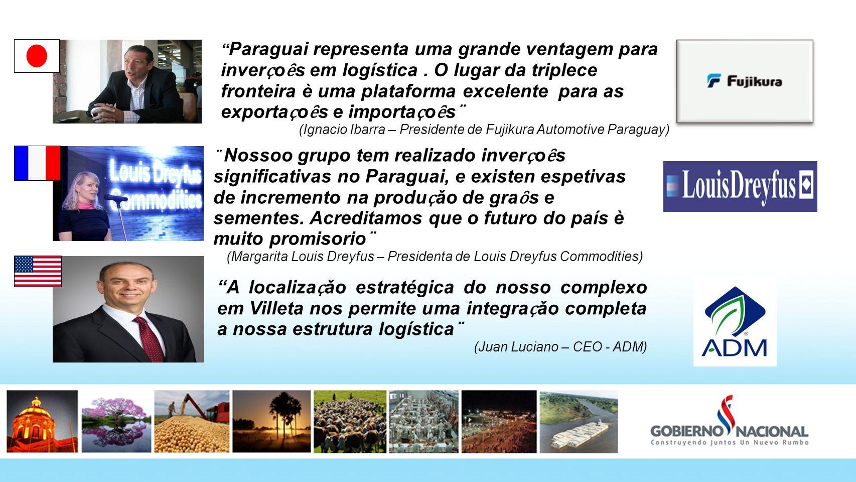 Paraguai representa uma grande ventagem para inverҫoȇs em logística