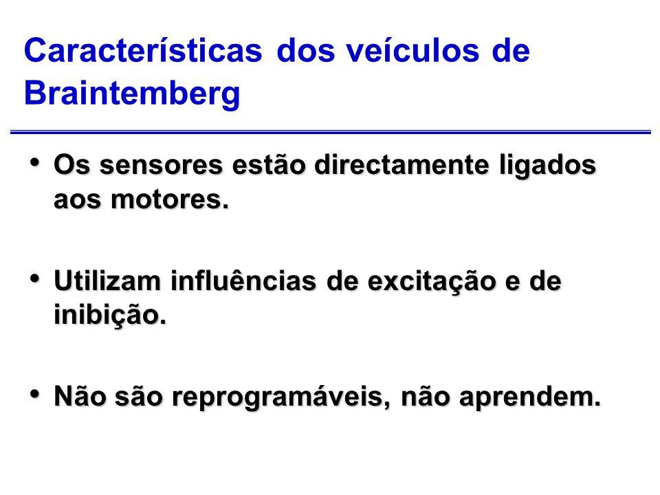 Características dos veículos de Braintemberg
