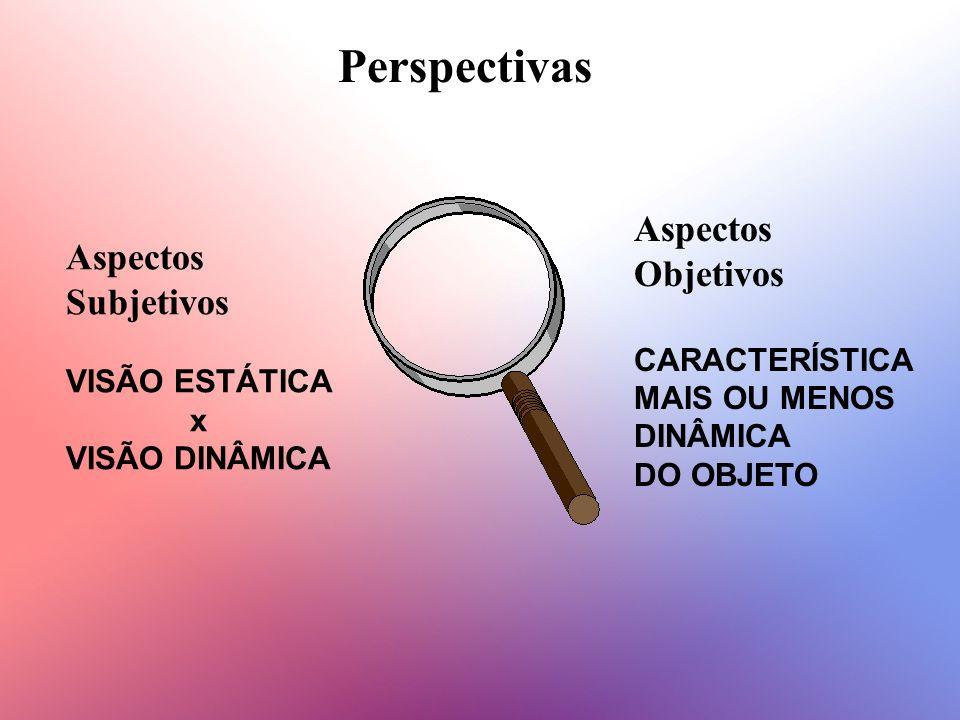 Perspectivas Aspectos Objetivos Aspectos Subjetivos CARACTERÍSTICA