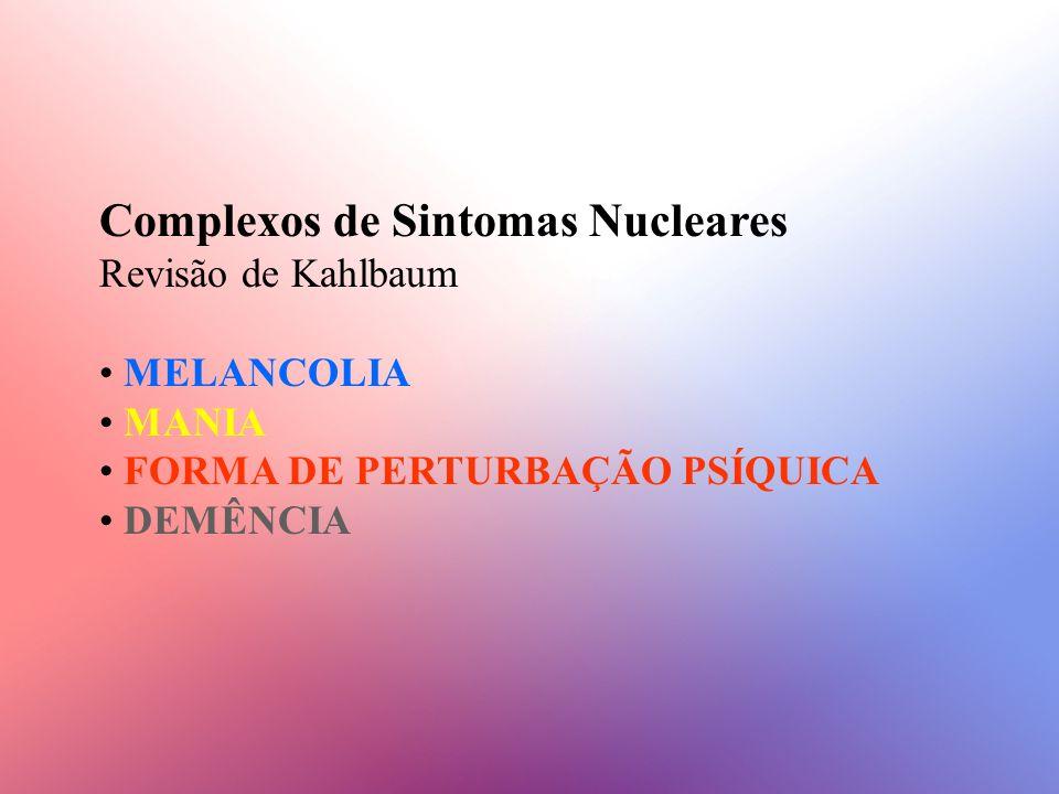 Complexos de Sintomas Nucleares