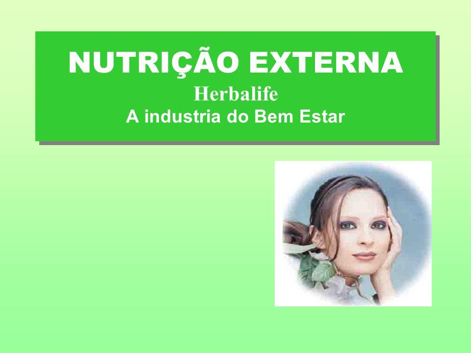 NUTRIÇÃO EXTERNA Herbalife A industria do Bem Estar