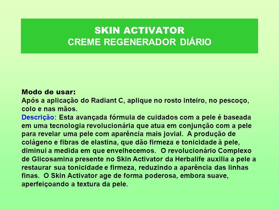 SKIN ACTIVATOR CREME REGENERADOR DIÁRIO