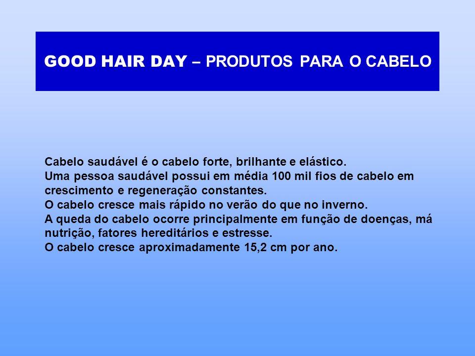 GOOD HAIR DAY – PRODUTOS PARA O CABELO