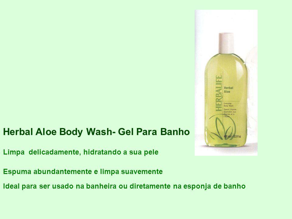 Herbal Aloe Body Wash- Gel Para Banho