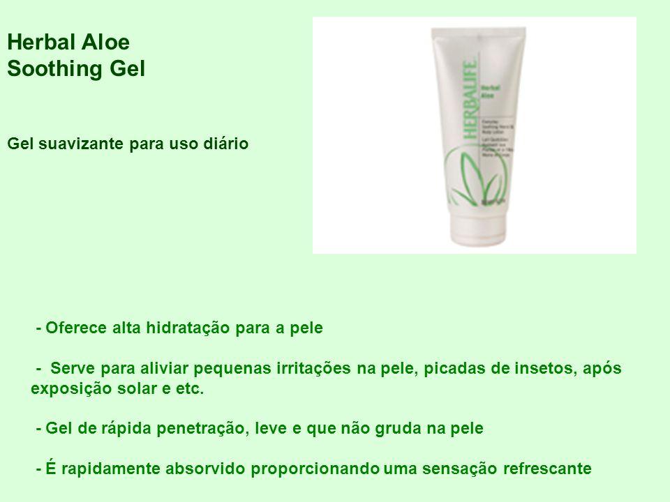 Herbal Aloe Soothing Gel Gel suavizante para uso diário