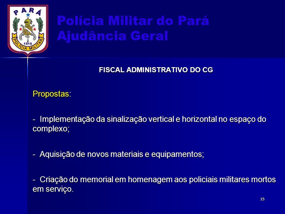 FISCAL ADMINISTRATIVO DO CG