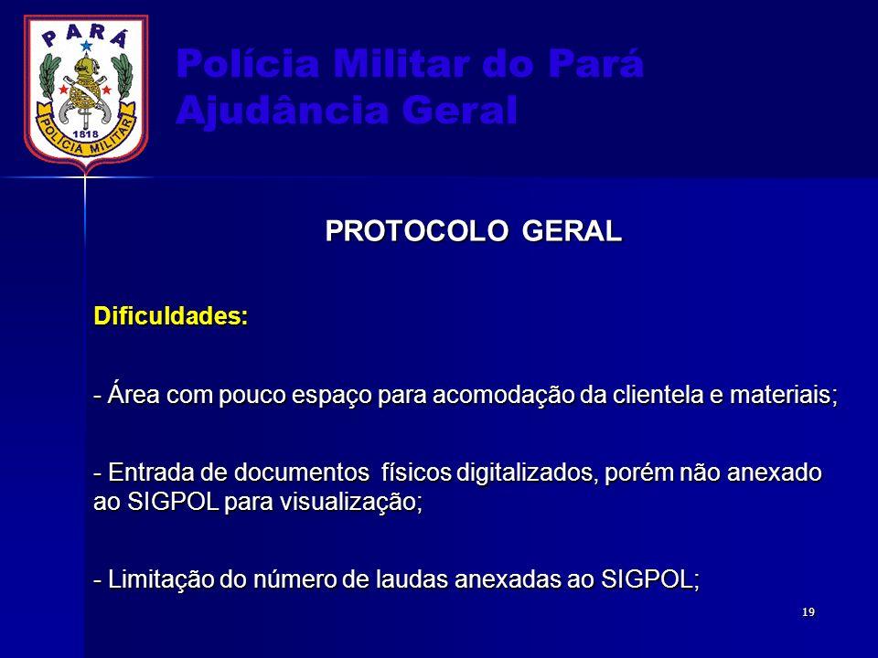 Polícia Militar do Pará Ajudância Geral