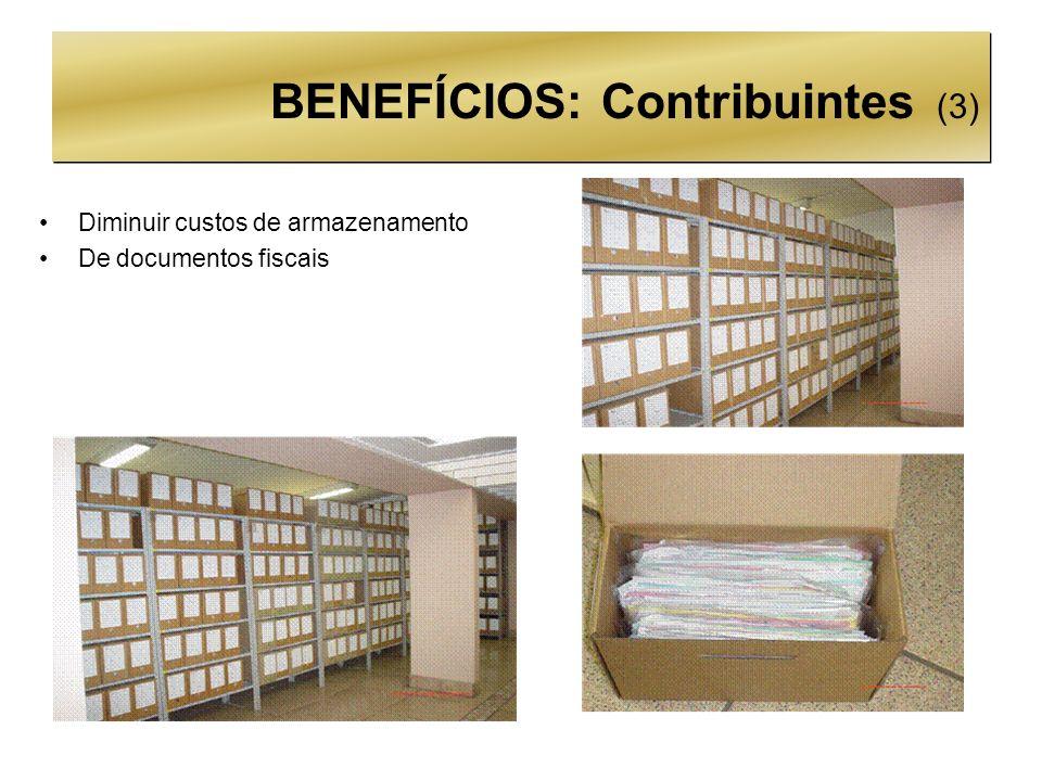 BENEFÍCIOS: Contribuintes (3)