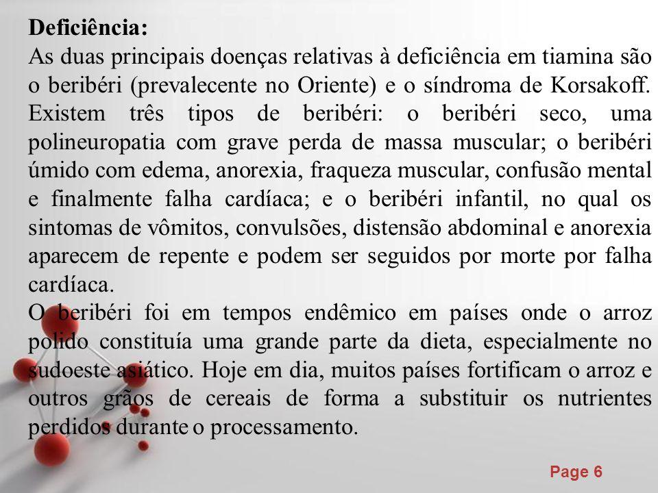 Deficiência: