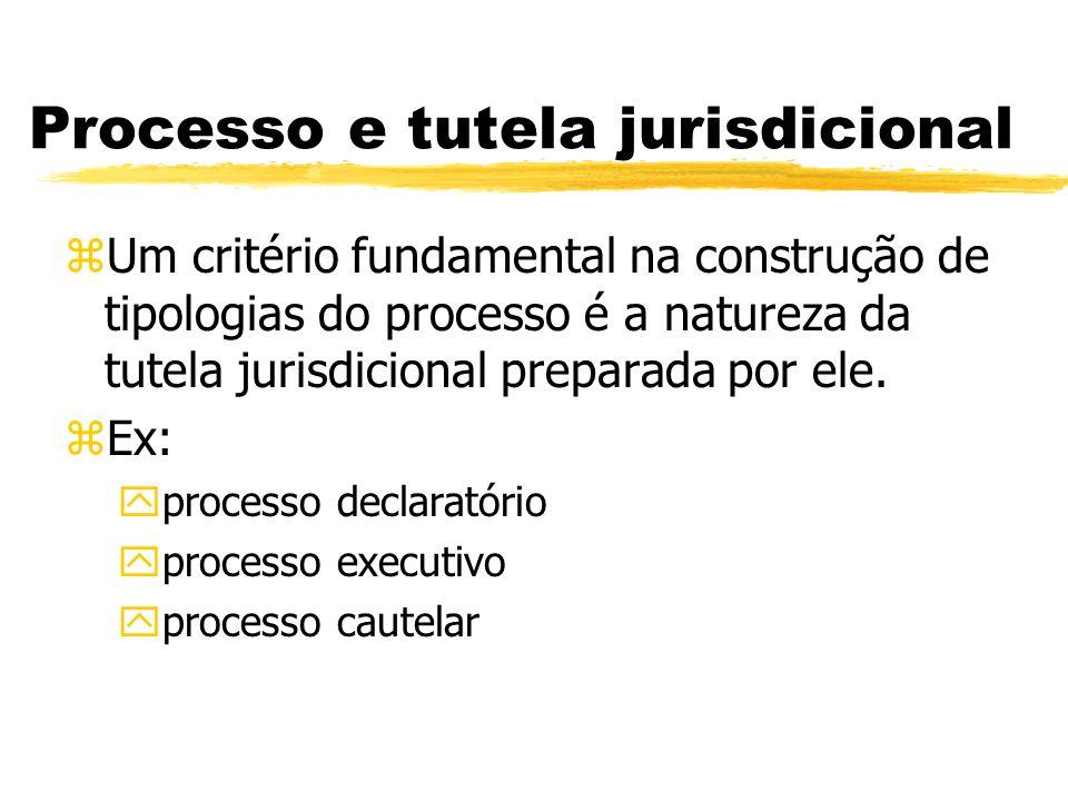 Processo e tutela jurisdicional
