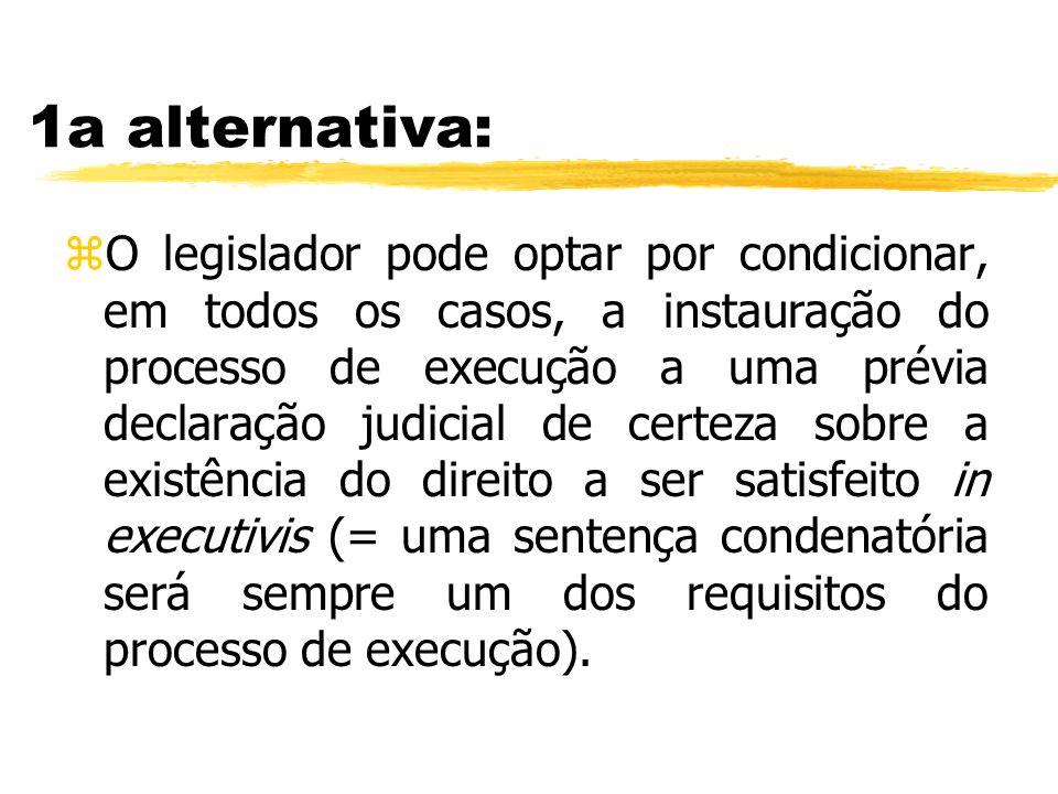 1a alternativa: