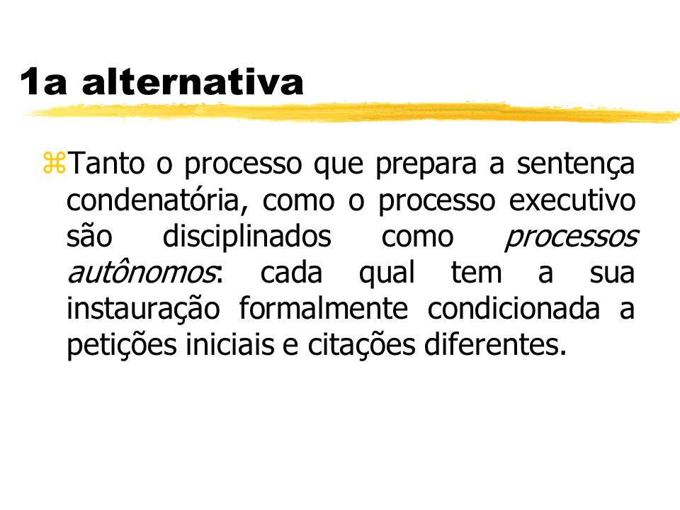 1a alternativa